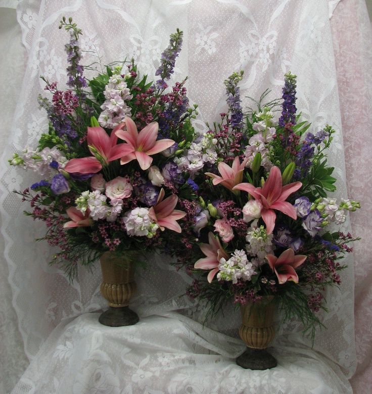 Large Wedding Altar Arrangements: 40 Best Images About Church Flowers On Pinterest