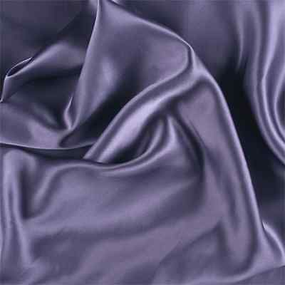 Amethyst Silk Charmeuse, Fabric Sold By The Yard