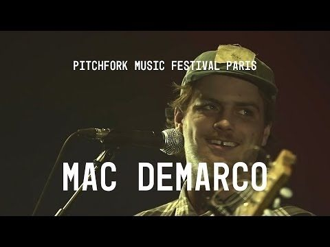 Mac DeMarco FULL SET - Pitchfork Music Festival Paris - YouTube