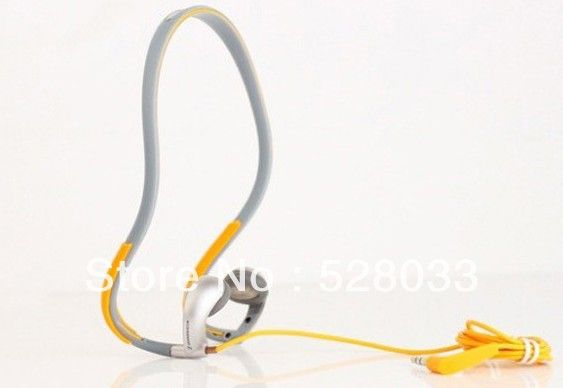 Dropshipping earphone PMX80 Sports Neckband headphones with plastic box package Free shipping $13.50