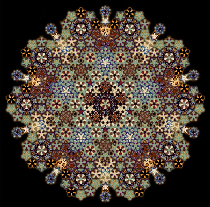 Penrose Tile 2 by *parrotdolphin on deviantART