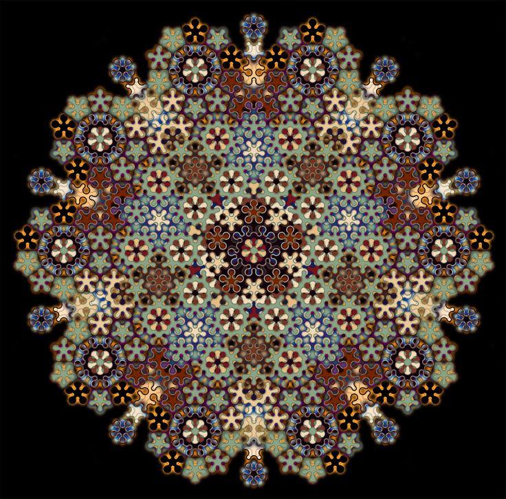 Penrose Tile 2 by *parrotdolphin on deviantART