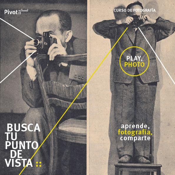 PLAY, PHOTO. Curso de fotografía :: Pivot School -> Madrid/Portable 2015/16 -> + info: http://goo.gl/tBj7Te