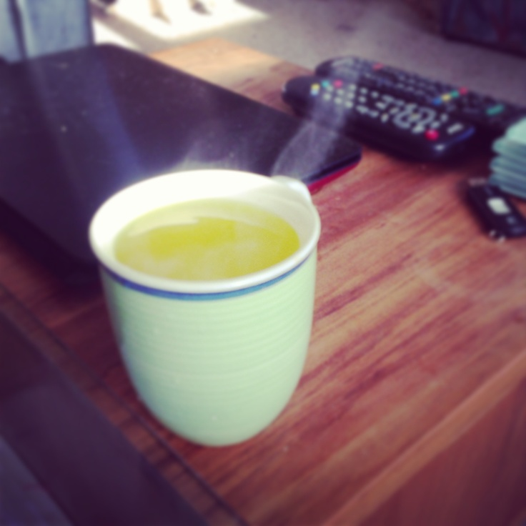 Hot hairy lemon instead of cold! Works wonders for colds