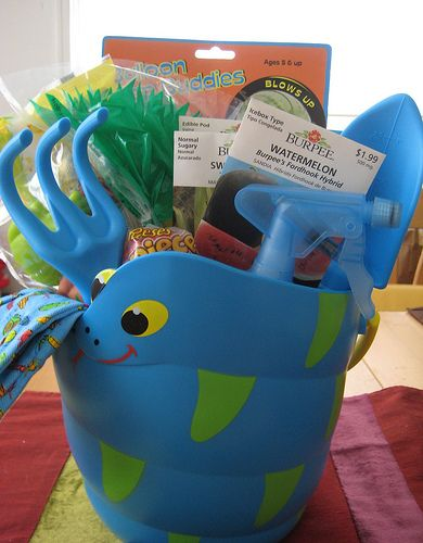 32 best themed basket ideas images on pinterest gift basket gardening themed easter baskets negle Image collections