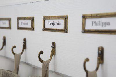 fabulous name tag peg board