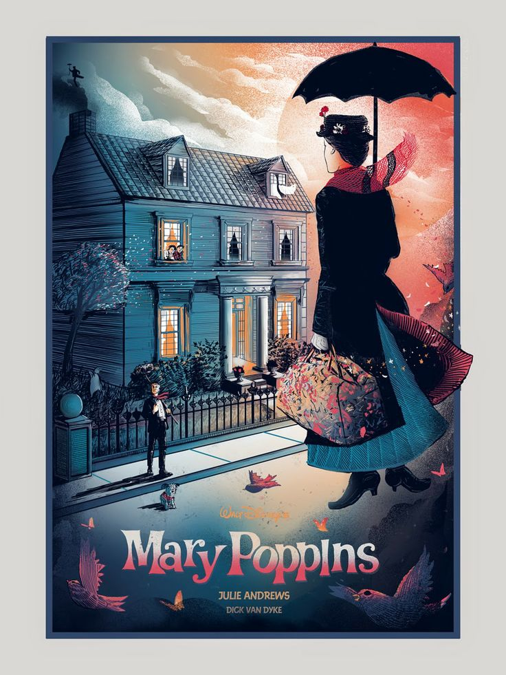 Mary Poppins by Zeb Love                                                                                                                                                                                 More