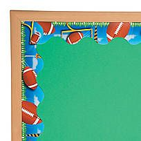 A sporty addition to your classroom's bulletin board! Featuring a fun soccer ball design, this bulletin board border is perfect for accenting your ...