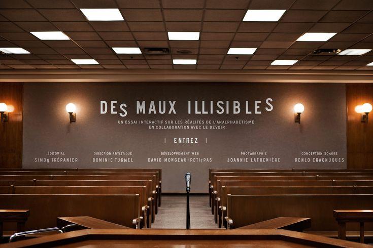 Des Maux Illisibles - Une oeuvre importante sur l'analphabétisme.