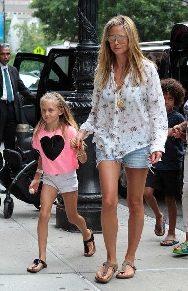 Heidi Klum's Palm Tree Button Down by Maison Scotch