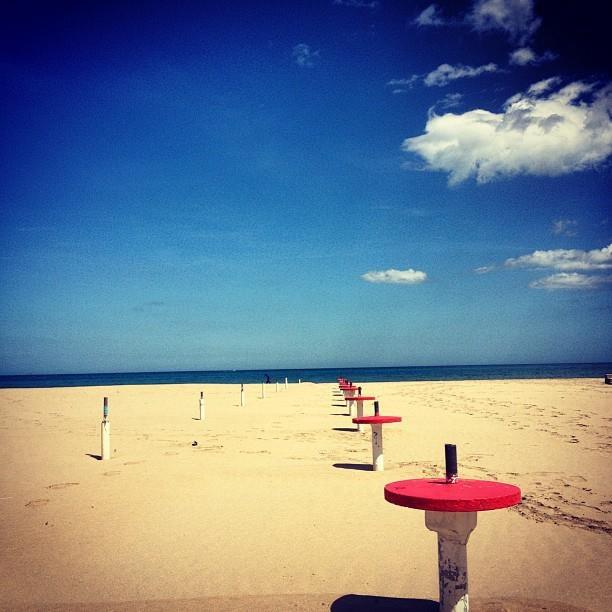 La spiaggia di Bibione ad aprile, work in progress!