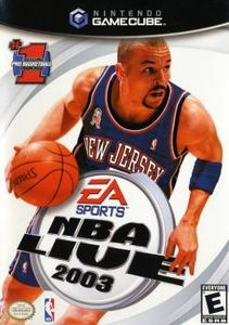 NBA Live 2003 - GameCube Game