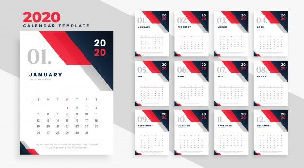 Download 2020 Calendar For Free Business Calendar 2020 Calendar Template Calendar