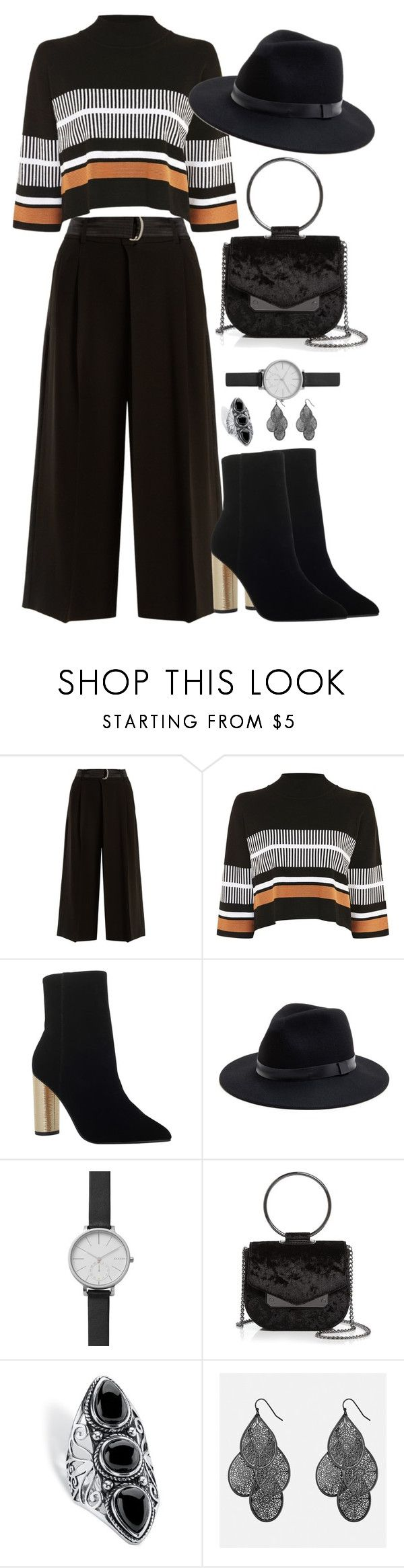 """""""BLACK BOOTIES"""" by nagihaneren ❤ liked on Polyvore featuring Weekend Max Mara, Native Youth, KG Kurt Geiger, Sole Society, Skagen, Nasty Gal, Palm Beach Jewelry and Avenue"""
