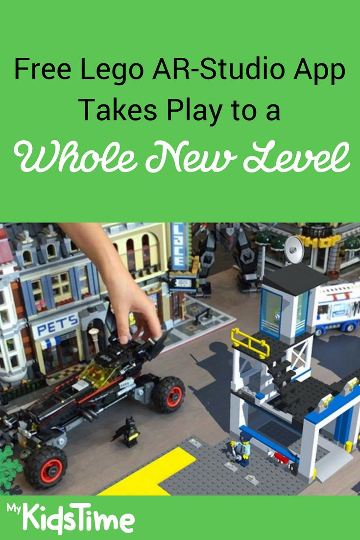 LEGO has launched a new augmented reality app that brings LEGO sets to life. Your child can combine their own LEGO sets with virtual ones to have even more fun as the free LEGO AR-Studio app takes play to a new level!
