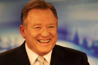 Peter Hitchener, Channel 9 news presenter, Melbourne Australia