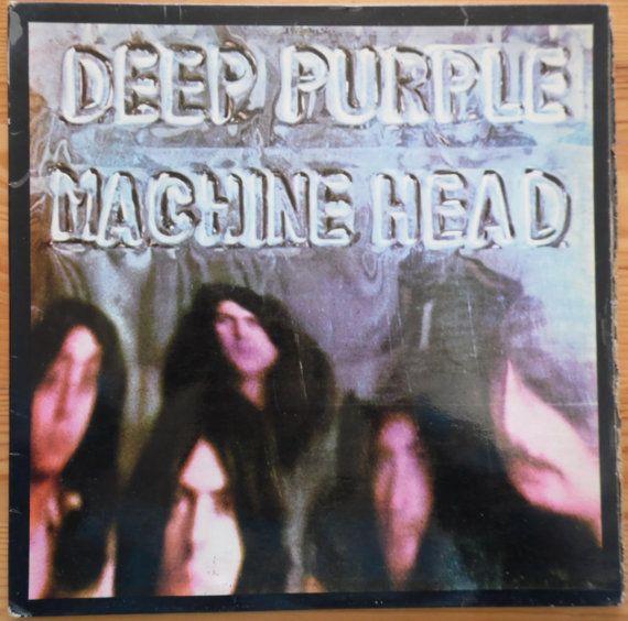 DEEP PURPLE Machine Head 1972 Portugal Issue Very Rare Lp 33 rpm Album Vinyl Record Classic Rock Prog 70s 8E06293261 Free s&h