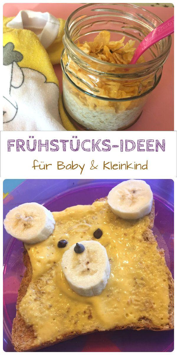 Frühstück für das Baby ab 10 Monate  und das Kleinkind, die sich im Rahmen von BLW. auch schon eher eignen. Wir sammeln leckere Ideen mit Brot und Brotaufstrich, Rezepte für Frühstücksbrei und anderes Fingerfood zum Frühstück: http://www.breirezept.de/breirezepte_zwischenmahlzeit.php