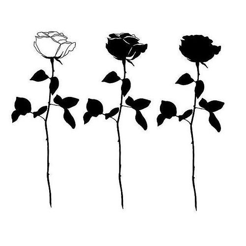 #Roses: Johnny gloom black rose tattoo { follow @pvjvritos for ink } https://ift.tt/2w9nfkF
