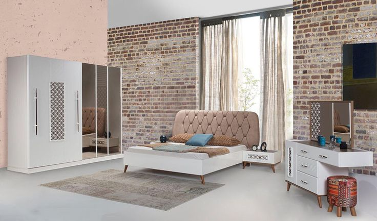 inegöl mobilya İnci Yatak Odası Takımı en yeni mobilyalar