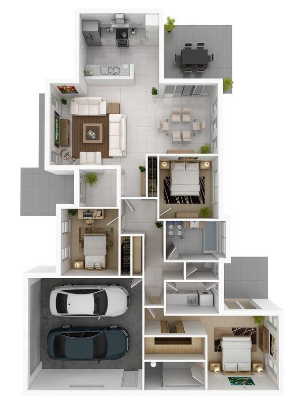 952 best Plans de maison images on Pinterest Home layouts, House
