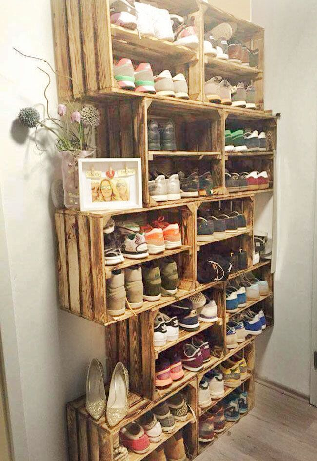 Schuhe Aufbewahren 11 Impressive Diy Shelving Unit That You Can Make Easily