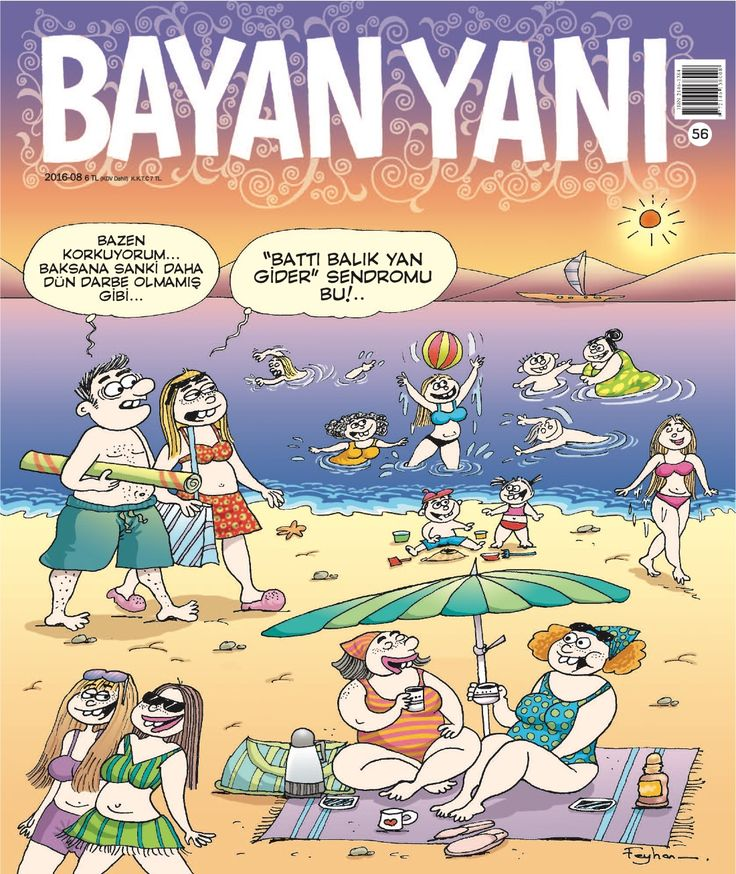 Bayan Yanı dergisi Ağusyos sayısı yine çok komik:) Bekleriz...