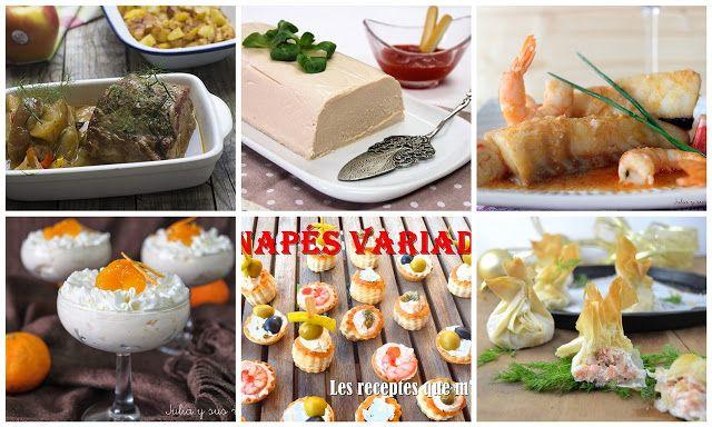 JULIA Y SUS RECETAS: Recetas fáciles para el menú de Nochevieja