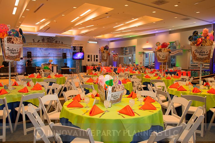 Ocean City themed Bar Mitzvah party for Blaine catered by Zeffert and Gold.