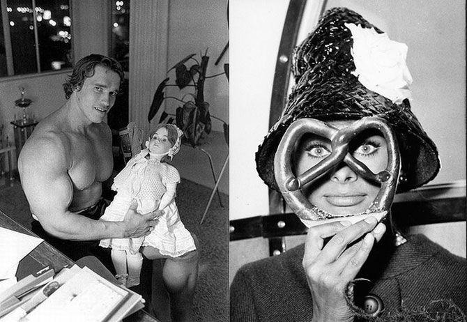Редкие фотографии знаменитостей прошлых лет