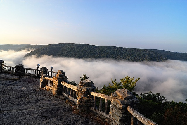 Coopers Rock WV in the morning, almost heaven for sure