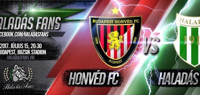 Budapest Honvéd – Szombathelyi Haladás 2–0 (1–0)