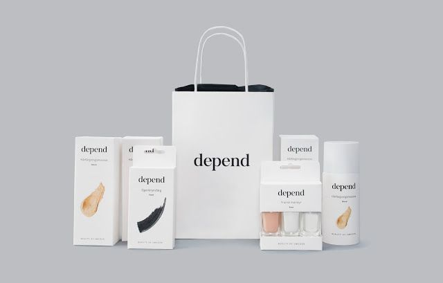 Depend Cosmetics Redesign (Student Project) on Packaging of the World - Creative Package Design Gallery