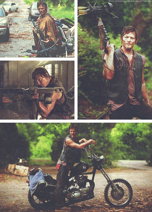 """Daryl Dixon, The Walking Dead"" This is all I want for Christmas."