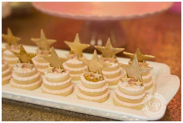 Pink + Gold Twinkle Star Party via Kara's Party Ideas KarasPartyIdeas.com (26)