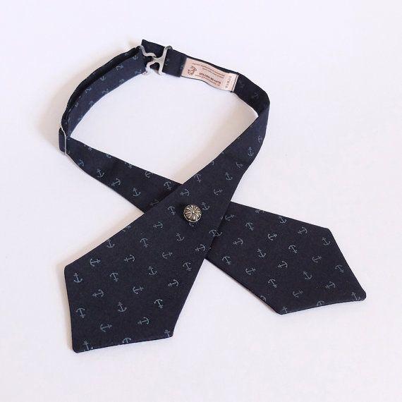 Tie for women  Cross tie  Ladies Cross Tie by goldenbeastsfashion