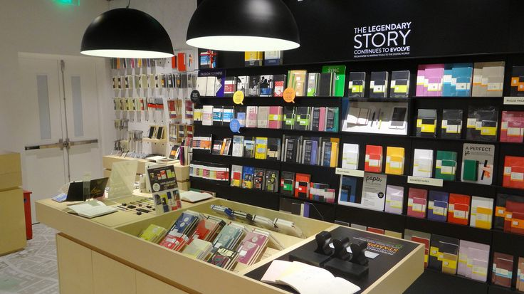 Moleskine Store I Shanghai K11 上海 (Shanghai) 300 Huaihai Middle Rd K11 shopping mall 10 am-10 pm