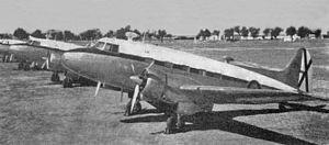 El CASA C-201 Alcotán fue un avión de transporte bimotor construido por la compañía española Construcciones Aeronáuticas S.A. (CASA) a comienzos de los años 50, aunque el proyecto se inició en 1946 con el contrato entre el Ministerio del Aire de España y CASA para el desarrollo de dos prototipos, el primero de los cuales realizó su primer vuelo el 11 de febrero de 1949.