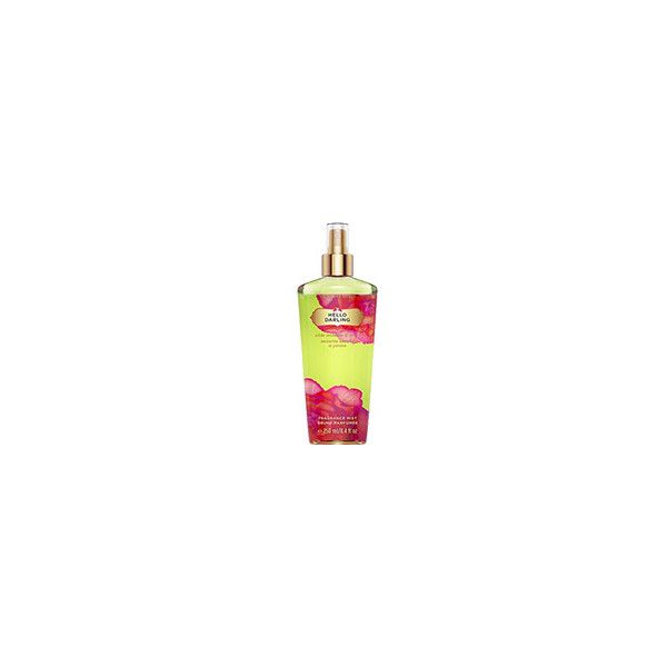 Parfym.se - Victoria's Secret - Hello Darling - Fragrance Mist ❤ liked on Polyvore featuring beauty products, fragrance and spray perfume