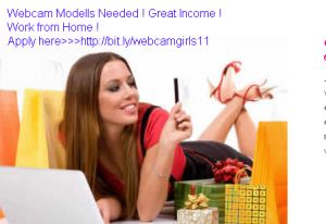 Become a webcam modell and work from home. Get your payment for your #Payoneer #Card.
