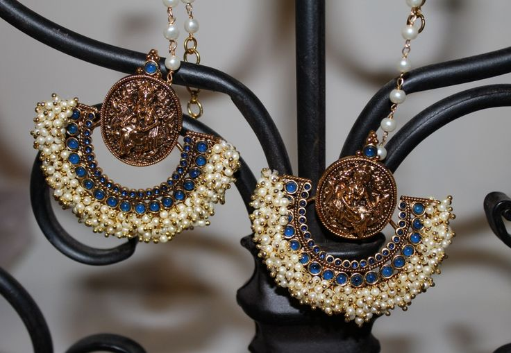 Comes with Ear Chains.Ready to ship WORLDWIDE Www.sokorajewels.com