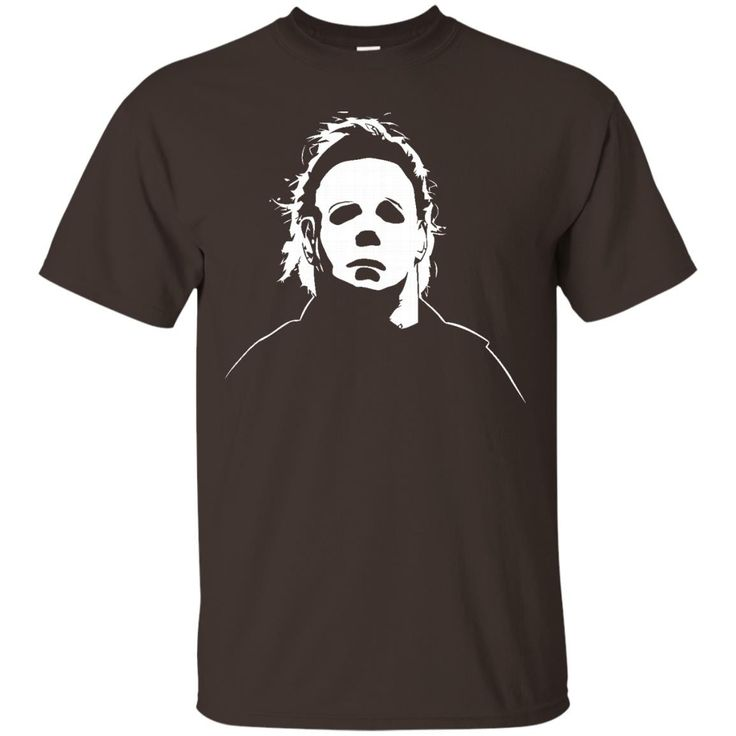 Jacted Up Tees Michael Myers Halloween Movie Mask Men's T-Shirt SHIPS FROM OHIO USA-01