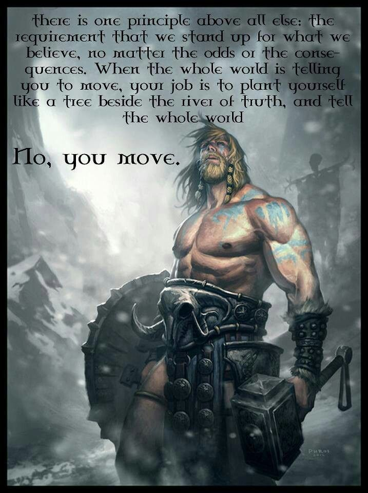 Pretty sure this quote was originally from Captian America, but its still awesome.