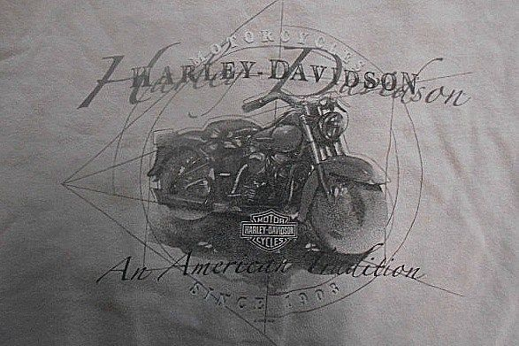 Harley Davidson Motorcycle Mancuso Harley Houston, TX T-Shirt 2XL XXL