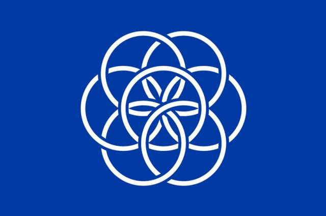 Planet Earth Now Has A Flag | the development of earth's flag with pictures of potential usage