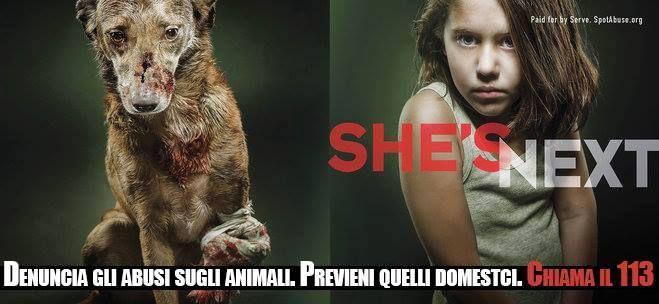 """LA VIOLENZA SUGLI ANIMALI E' TIROCINIO PER ALTRI CRIMINI  c'è una sicura correlazione fra la violenza sugli animali e la futura violenza su uomini, donne e bambini.  La crudeltà sugli animali praticata da bambini o da adolescenti è infatti riconosciuta scientificamente  potenziale patologia, ma anche come indicatore di pericolosità sociale. Esiste inoltre la """"zoocriminalità minorile"""", che coinvolge bambini e adolescenti in violenze su animali, per iniziarli in tal modo alla vita…"""