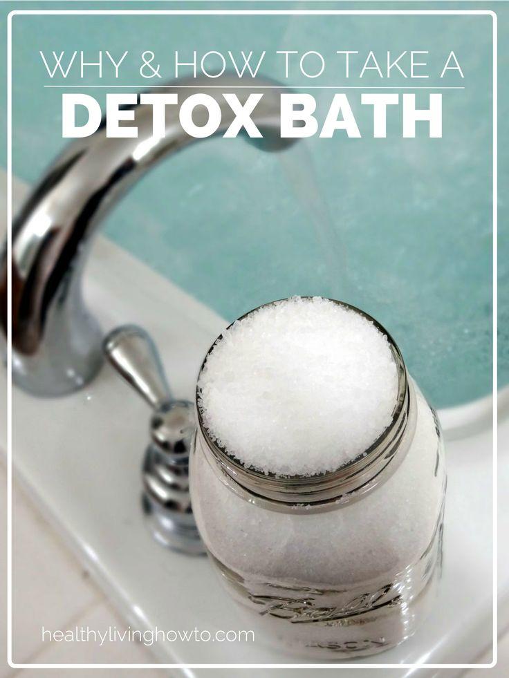 Detox Bath | healthylivinghowto.com