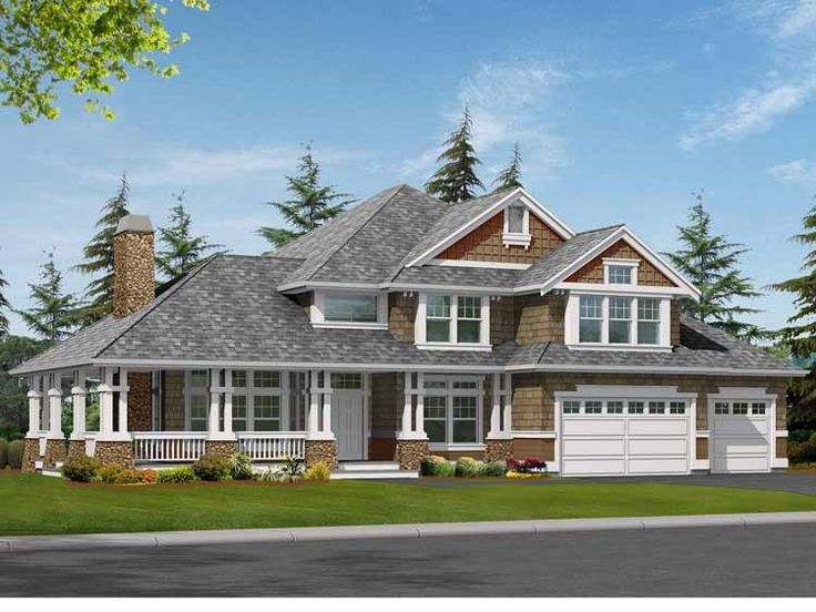 18 Genius Craftsman House Plans With Wrap Around Porch