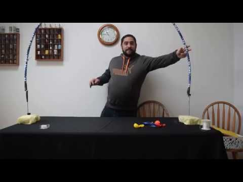 how to build a Balloon arch kit . Learn how to make a indoor balloon frame for arches w/out helium - YouTube