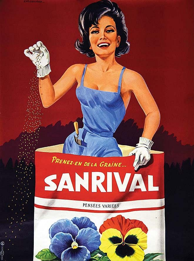 Sanrival - Prenez en de la graine … vers 1950 - (E. Gaillard) -